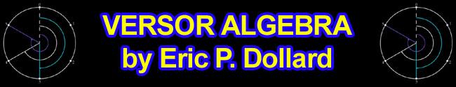 versor algebra eric dollard