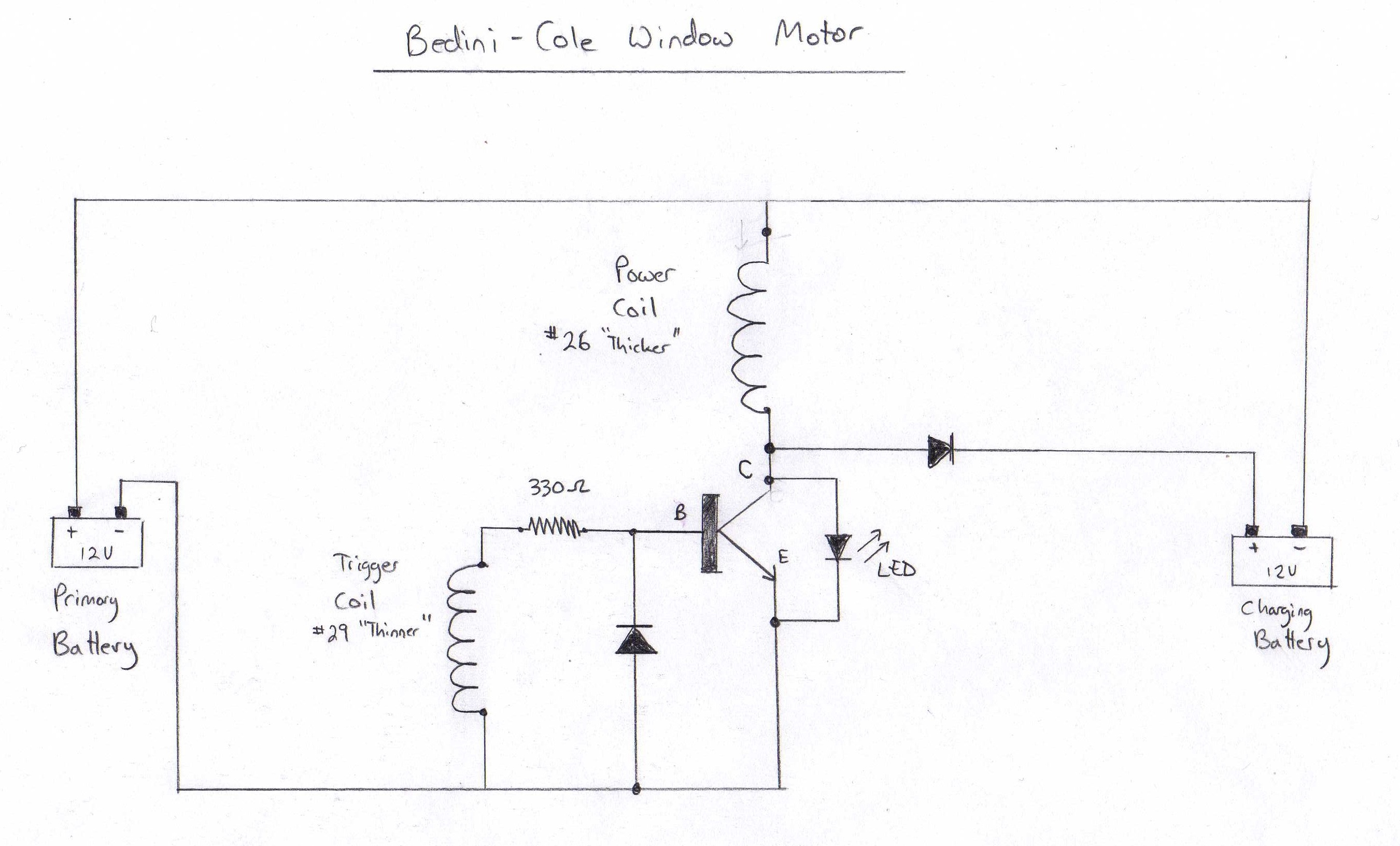 Bedini Cole Window Motor Gestalt Reality How To Build A Hall Effect Sensor Circuit The