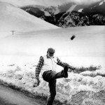 Ernest Hemingway kicking the can down the road