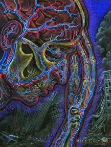 Alex Grey - Man Thinking