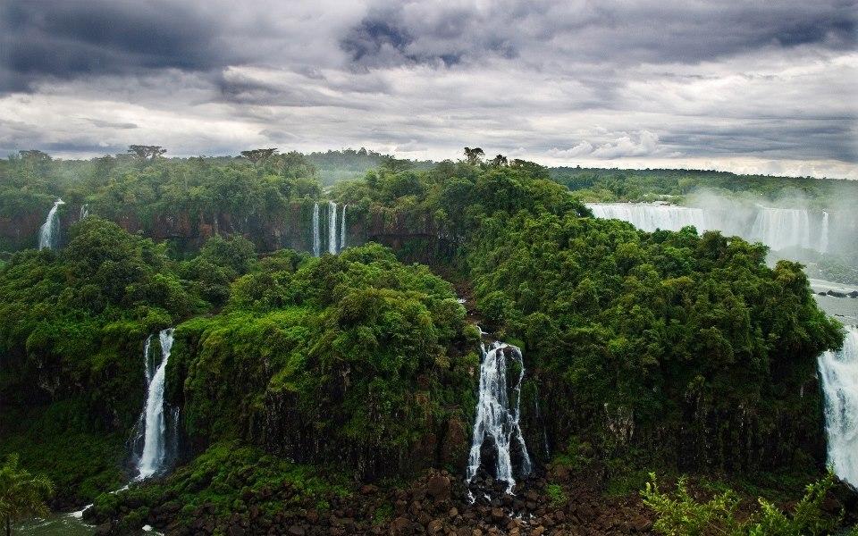 Iguazu Falls aka Iguassu Falls or Iguaçu Falls