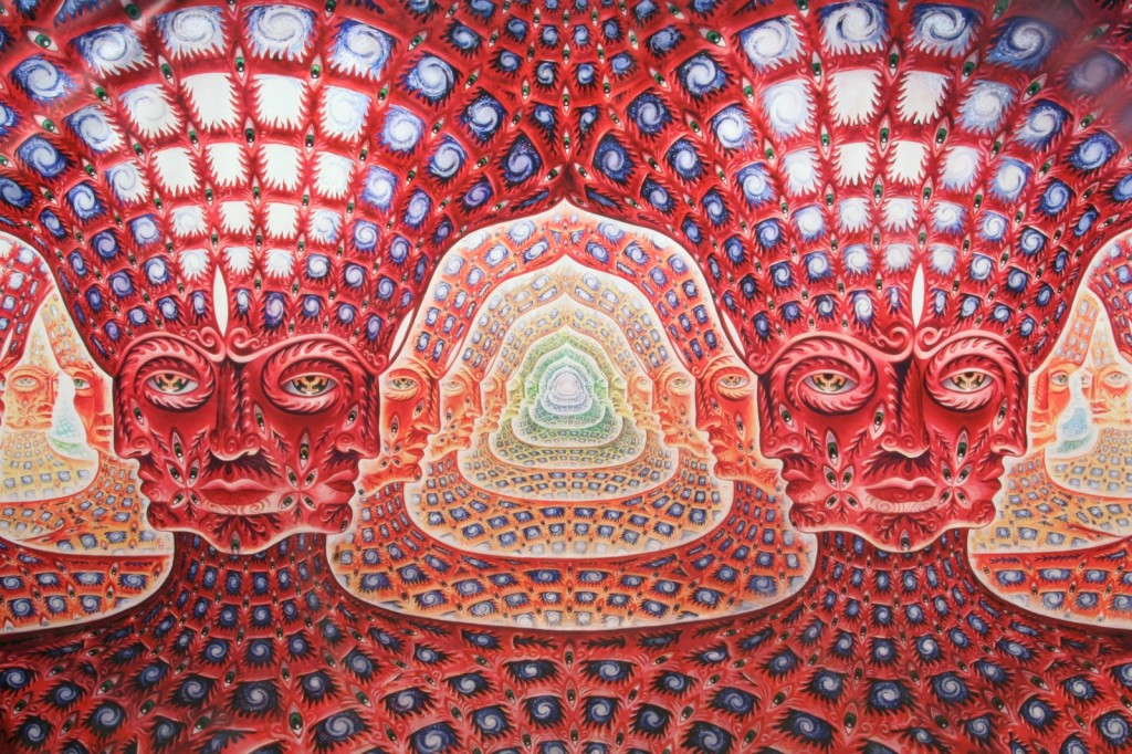 Alex Grey Fractal Self Similar