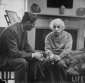 Einstein and his therapist