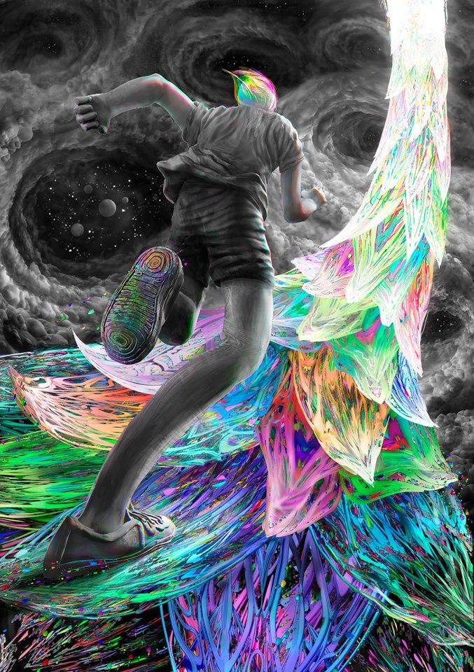 art by noisecraft - Kundalini Awakening