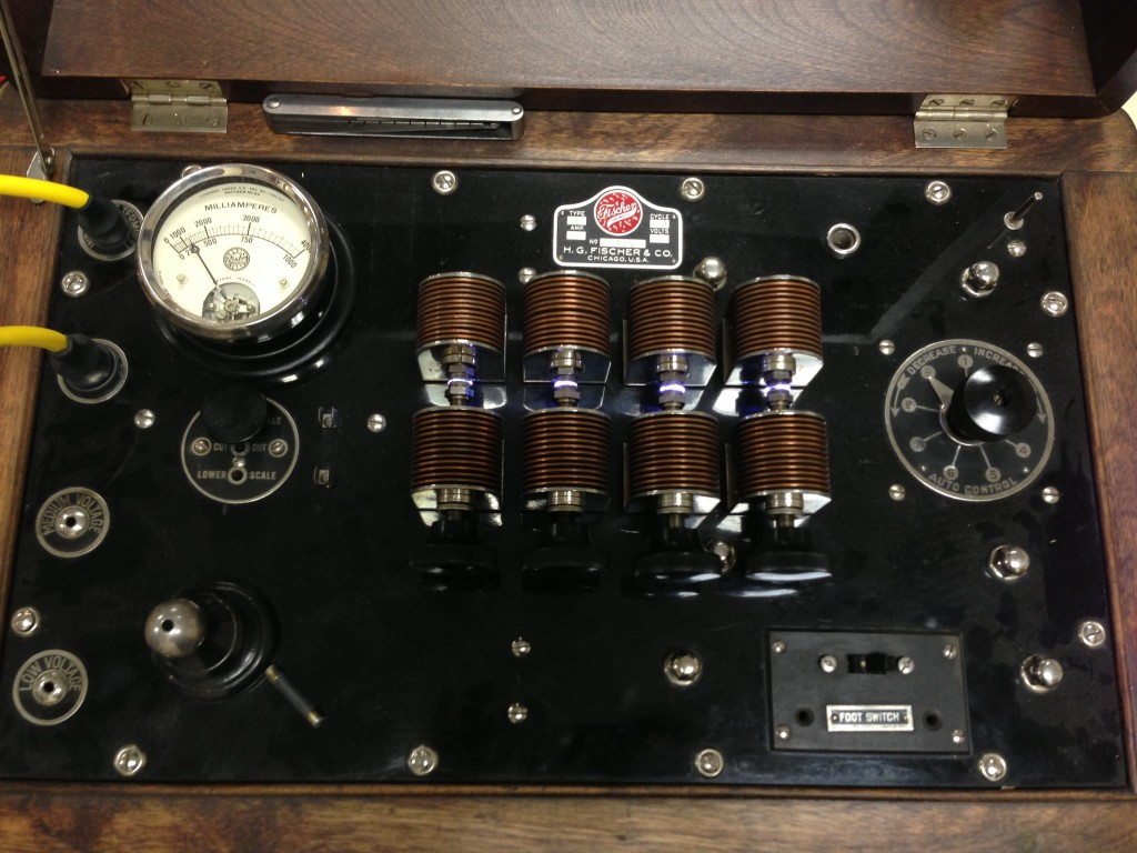 1920 Fischer Diathermy Machine - Tesla Dollard Mark McKay