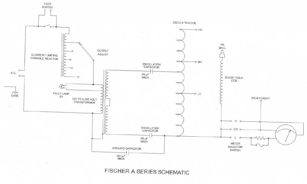 Tesla Fischer A Series Schematic Dollard McKay