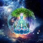 Light Body Earth Universe Abstract Spiritual