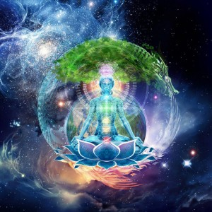 Light Body Earth Universe Abstract Spiritual