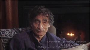Gabor Mate attachment disease addiction denial video
